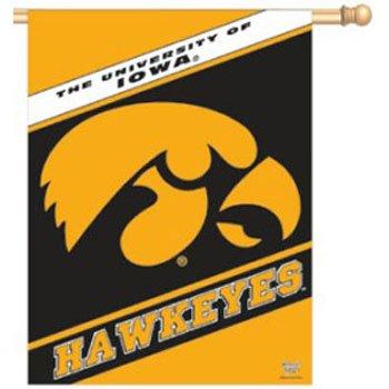 Iowa Hawkeyes 68,6x 94cm Banner