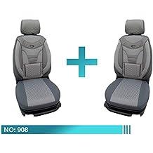 Schwarz Sitzbez/üge Wasserdicht Protector Set Mercedes Vaneo