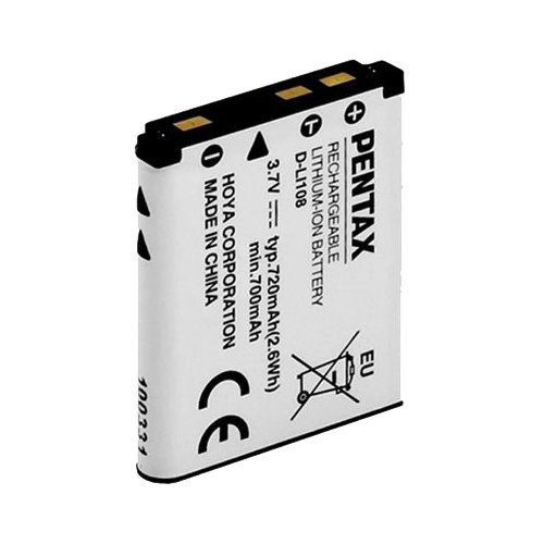 Pentax 39071 Akku D-LI 108 (Pentax Akku-ladegerät)