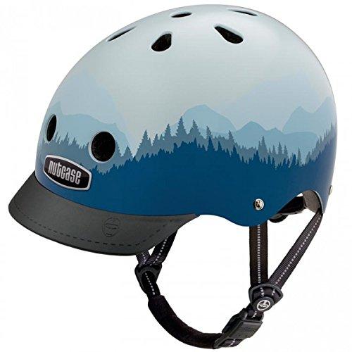 NUTD6|#Nutcase Street Helm, weiß/blau