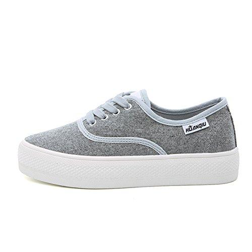 XTIAN , chaussons d'intérieur femme gris clair