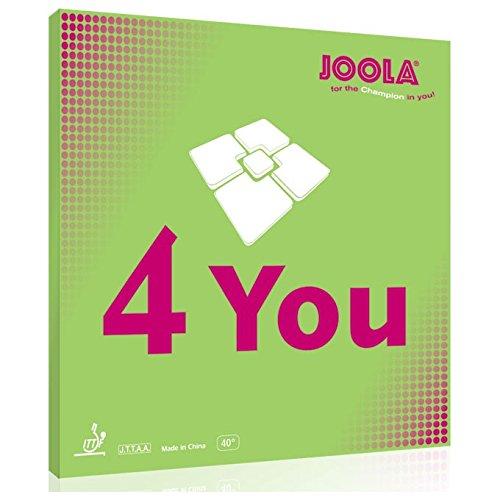 Joola RUBBER 4-YOU BLACK 1,8 MM - -0, Größe:1.8
