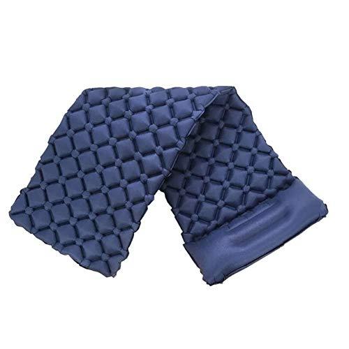 e Schlafmatte Camping Matratze Pad, Rollenmatte Kompakte leichte Luftmatratze mit Kissen zum Wandern, Backpacking, Hängematte, Zelte (Farbe : Blau, größe : L) ()