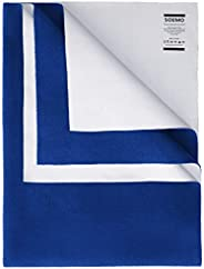 Amazon Brand - Solimo Baby Water Resistant Large Size Dry Sheet (140cm x 100cm, Royal Blue)