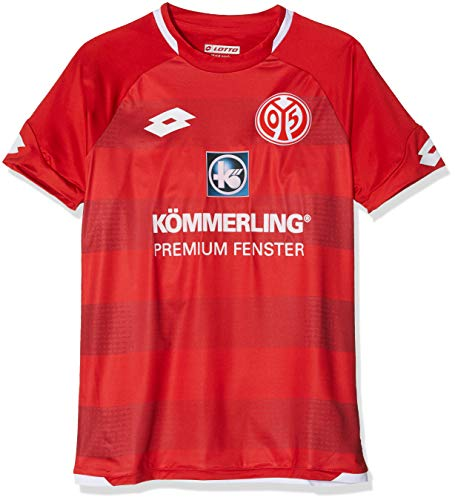 LOTTO Kinder MAINZ 18 Home Jrs JR Jersey Short Sleeve, Flame, XL