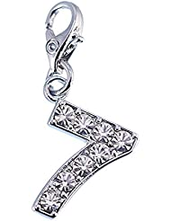 Charm Chiffre 7 So Charm made with Crystal from Swarovski