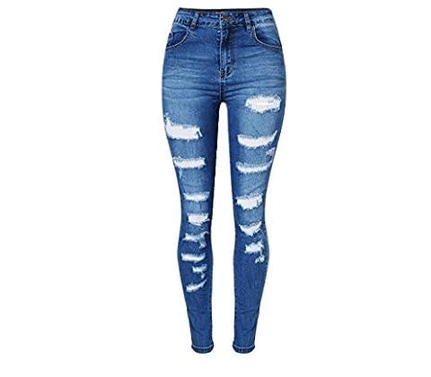 jeans pour femme disco haute ceinture en dentelle denim loose straight trouser zipper pocket long pants