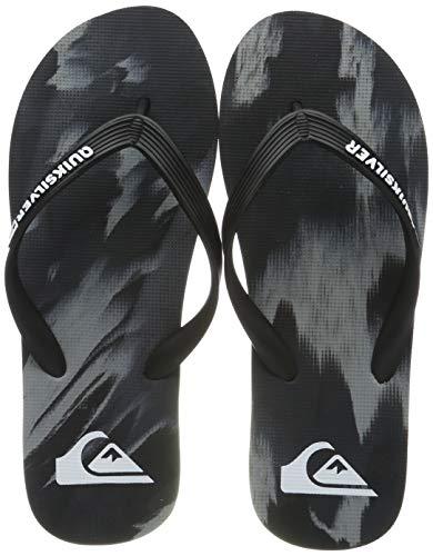 Quiksilver Molokai Marled - Flip Flops for Men, Scarpe da Spiaggia e Piscina Uomo, Nero Grey/Black Xksk, 41 EU