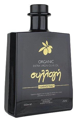 Selektion-BIO Limitierte Auflage, besonders schonend hergestellt. 100 % aus der Königin der Öl-Oliven, der Koroneiki-Olive. Jede Olive in ihrer idealen Reifephase von Hand gepflückt und verarbeitet. 500ml