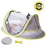 Tente pliable pour bébé, deux piquets, pour la protection contre le soleil et les...