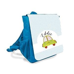 Kinder-rucksack für Jungen mit Namen u. Auto