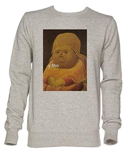 Jergley Y THO Unisex Grau Jumper Sweatshirt Herren Damen Größe S | Unisex Jumper Sweatshirt for Men and Women Size S