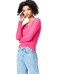 Amazon.fr   Rose - Pulls et gilets   Femme   Vêtements 05ab01311490