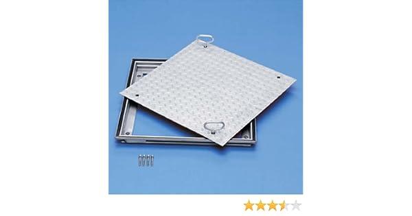 ZARGES Schachtabdeckung Aluminium 500 x 500 mm