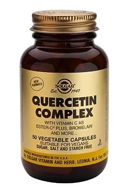 Solgar-Quercetin Complex Vegetable Capsules 50