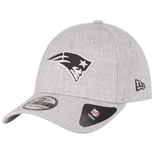 New Era Heather Essential 39Thirty Cap New England Patriots Hellgrau, Size:S/M