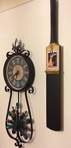 avenue-craft-cricket-bat-black-board-with-fleur-de-lis-key-hook-memo-board-shopping-jotter-note-boar