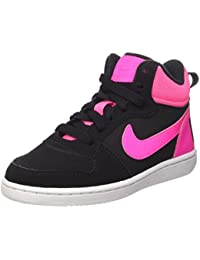 Nike Court Borough Mid (Ps), Zapatillas de Baloncesto para Niñas