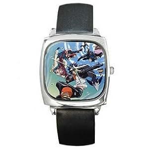 Montres bracelet Anime GAW377 Anime Air Gear Iki Kazu and more leather wrist watch