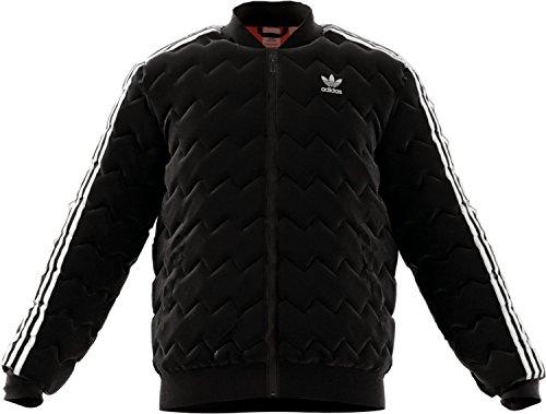Adidas Superstar Quilted Jacke Herren schwarz, XS - 42