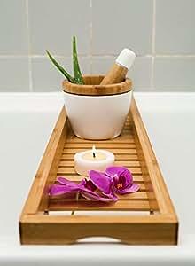 Beautiful Bamboo Bath Tray 70 cm x 16 cm