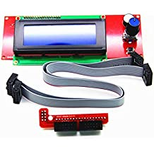 LEORX LCD pantalla 2004Controlador Smart RepRap Rampas V1.4para Impresora 3d