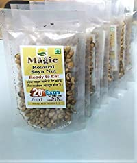 Magic Roasted namkeen SOYA Beans/Oil Free and Healthy/Pack of 10