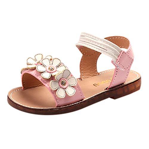 Zylione T06 Kinder Mädchen Mode Sommer Blumen Prinzessin Schuhe Sandalen