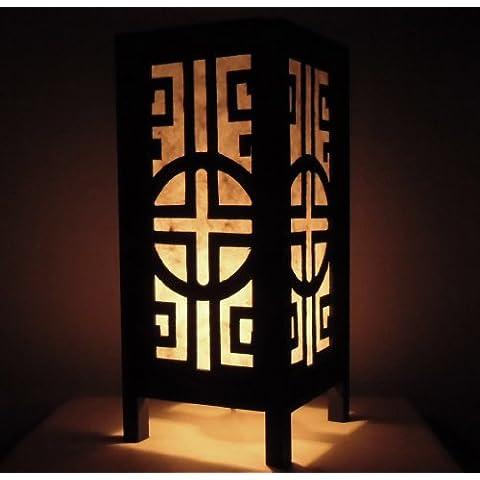 Rari Asiatici Orientali Mobili Arredamento Fatto a Mano Mestiere Thai Carta Lampada Comodini Tavolo Budda Stile Classico Chinese Muro Camera Da Letto Casa Mobili in Thailandia
