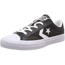 Converse Star Player Ox 159780c, Zapatillas para Hombre, Negro (Black, 44 EU