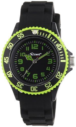 Scout Jungen-Armbanduhr Analog Quarz Silikon 280303000