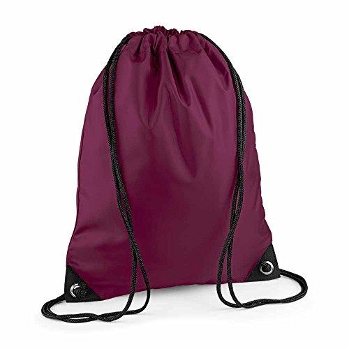 BAG BASE - sac à dos à bretelles - gym - linge sale - chaussures - BG10 - rouge bordeau