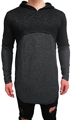 Oversize Kapuzenpullover double layer Designer Sweat Jacke Cardigan Hoody Pullover Shirt Herren Hoodie Longsleeve m long Sweatjacke Sweatshirt NEU