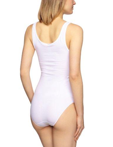 Schiesser Damen Body 0/0 Arm Weiß (100-weiss)