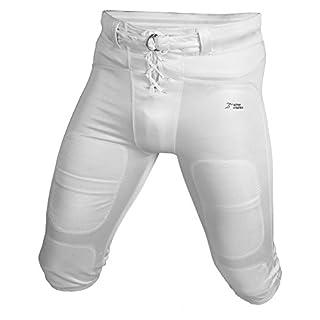 Active Athletics Shiny Football Practice Pants - weiß L