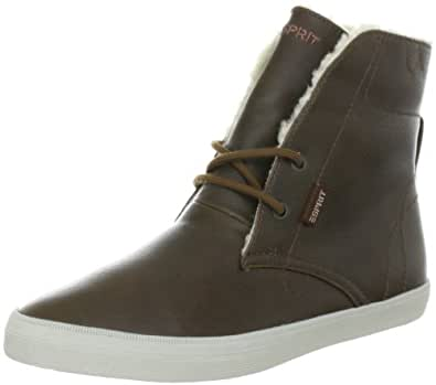 ESPRIT Sophia Lu Bootie H13100, Damen Fashion Sneakers, Braun (carafe brown 241), EU 37