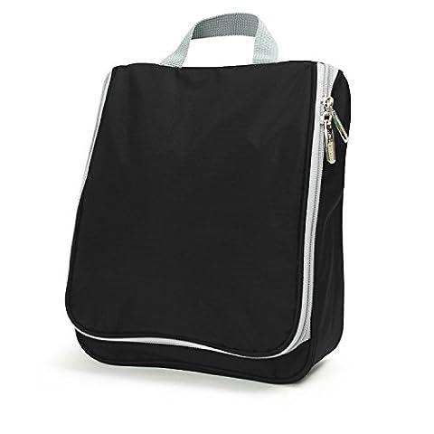 Lavievert Nylon-Faser wasserdichte und tragbare Kulturbeute / Kulturtasche / Dusch-Tasche für Reise und Pflegen(25x20cm)(