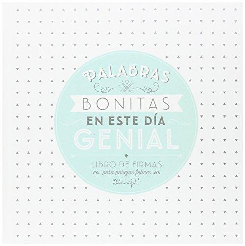 Mr. Wonderful - Libro de Firmas Palabras Bonitas en un Día genial