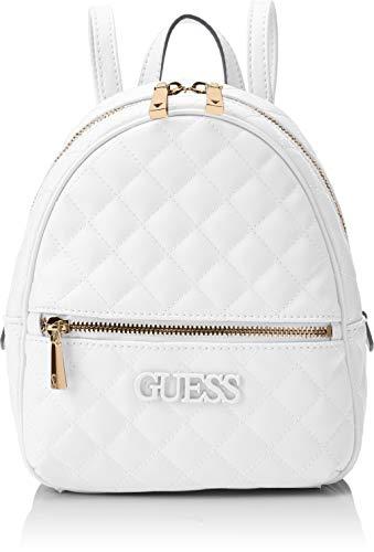 Guess Elliana Backpack, Zaino Donna - Bianca (White) - 22x29x10.5 cm (W x H x L)