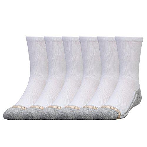 Gold Toe Big Jungen 6Stück Athletic Crew Socke Gr. S, weiß - Gold Toe Crew Sport Socken