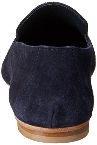Fred de la Bretoniere Damen Slipper Loafer Blau (Dark Blue)