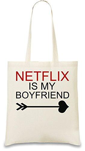 netflix-is-my-boyfriend-slogan-tasche