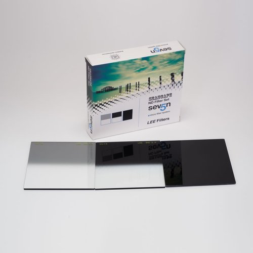 LEE Filters Seven5 Seascape Filter-Set - 1x Big Stopper Graufilter und 2x Grauverlaufsfilter (0,3...