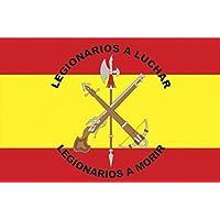 TB Bandera de Legion de España,150x90cm, 2 Unidades