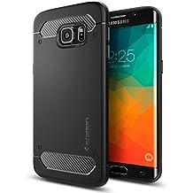 Spigen SGP11698 - Funda para Samsung Galaxy S6 Edge+, Negro