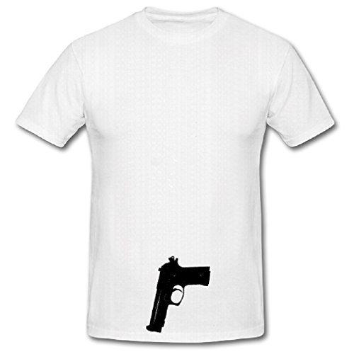 arneval Fasching Verkleidung Kostüm - T Shirt #413, Größe:5XL, Farbe:Weiß (Army Navy Air Force Kostüme)
