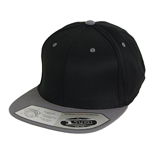 110 Flexfit equipaggiata Snapback Cap black grey