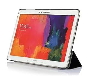 IVSO Slim Smart Cover Style Leder Hülle Case Tasche Cover für Samsung Galaxy Note Pro 12.2 P900 P905/Galaxy Tab Pro 12.2 T9000 Tablet PC (Für Samsung Galaxy Note Pro 12.2, Smart Cover-Schwarz)