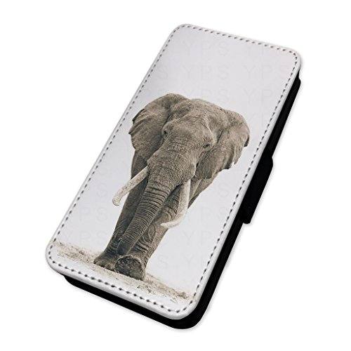 Incredible Wild Elephant – Custodia ad aletta in pelle copertura di carta Apple iPhone 6/6S
