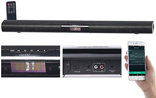 auvisio Multiroom Lautsprecher: Aktive WLAN-Multiroom-Soundbar, Bluetooth, komp. zu Amazon Alexa, 80 W (Soundbar für Heimkino) (Bluetooth Soundbar Fm)